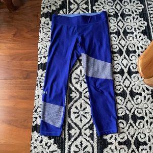 Under armour heatgear compression workout leggings